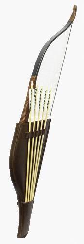 Лук Сармат с налучью и стрелами